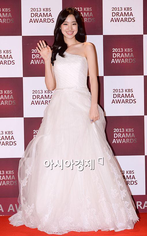 [포토]진세연, 순백의 드레스 '예쁘단 말 밖엔'