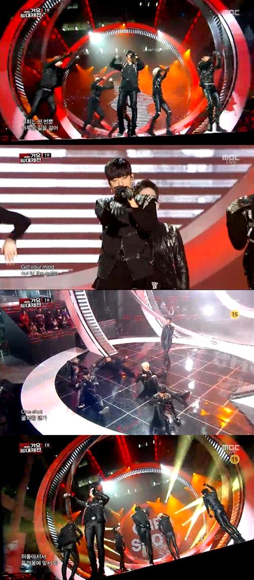 [MBC가요대제전]B.A.P, 이것이 바로 '강렬 퍼포먼스'… '女心 장악'