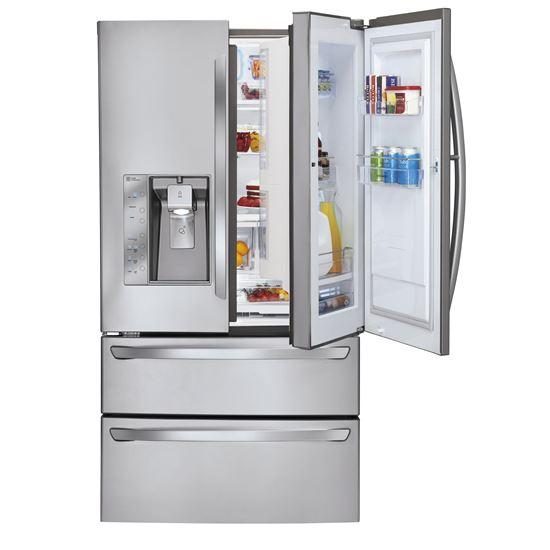 ▲LG전자 프렌치도어 냉장고(LMX30995ST)