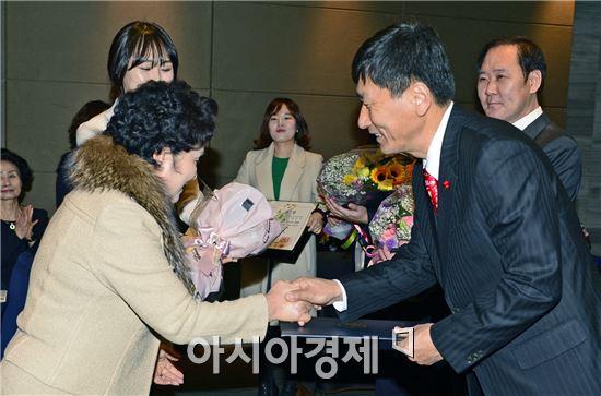 김옥수 서구의회 의원, 민주평통 평가대회 대통령상 수상