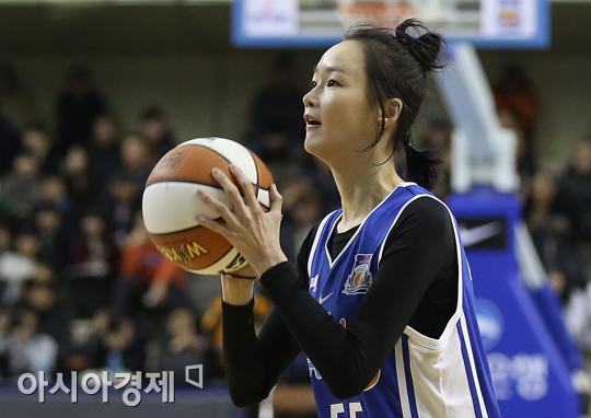 [포토] 슛 하는 이혜정