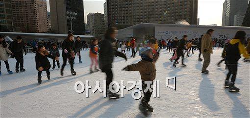[포토]새해 첫 주말 즐기는 시민들