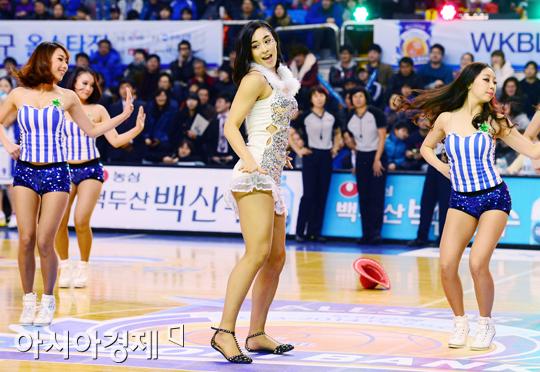 [포토] 김소니아 '이런 모습 처음이야'