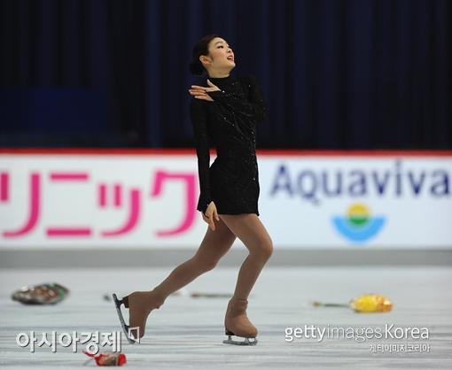 김연아[사진=Getty Images/멀티비츠]