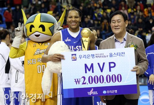 [포토] 여자농구 올스타전 MVP 모니크 커리
