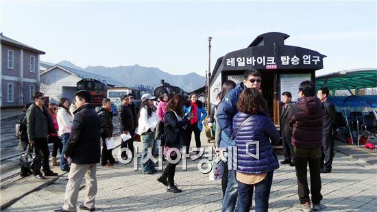 중국 하남성 여행사 대표, 곡성기차마을 방문