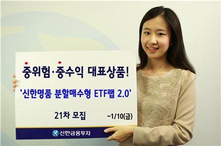 신한금융투자, '신한명품 ETF랩 2.0' 21차 모집