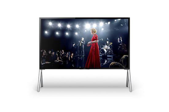소니는 7일 'CES 2014에서 울트라HD TV X950B 시리즈를 선보였다.