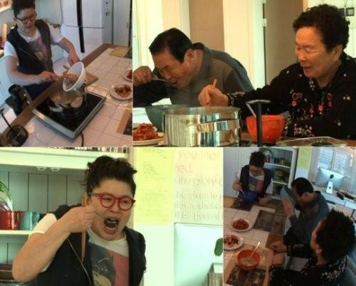 ▲이영자 요리 실력.(출처: KBS2 방송화면 캡처)