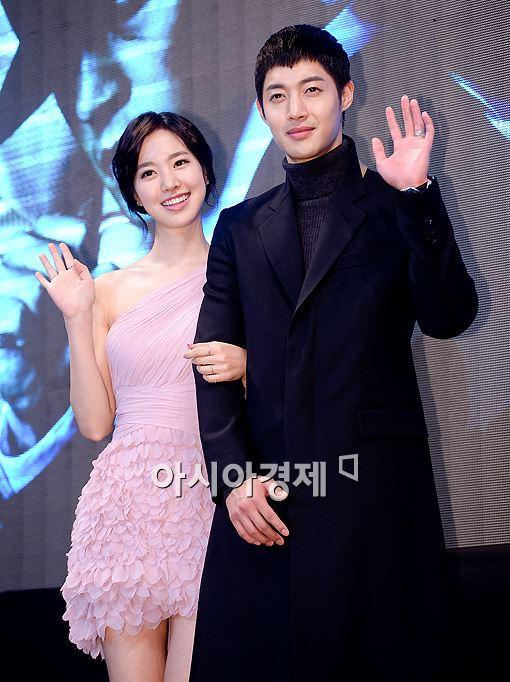 [포토]진세연-김현중, '선남선녀 커플'