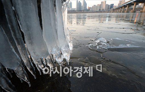 [포토]얼어붙은 한강