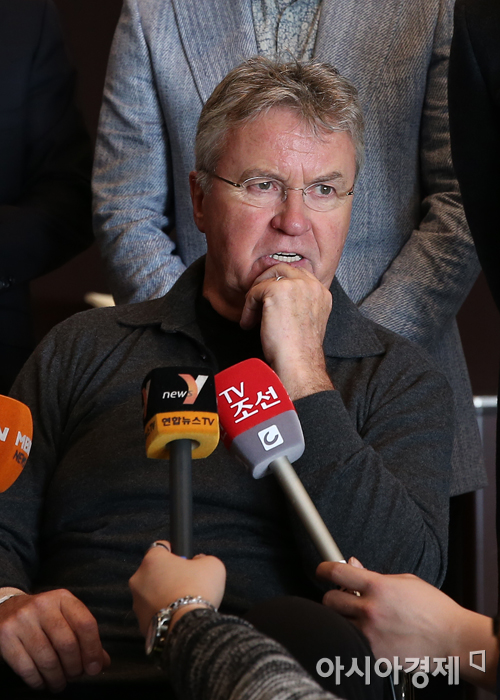 히딩크, 브라질 월드컵 후 네덜란드 감독으로 복귀