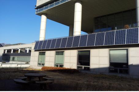 도봉구청사 태양광 발전시설