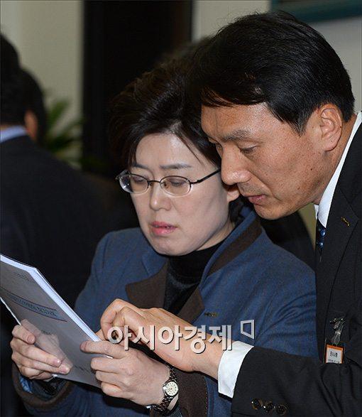 [포토]국회, 철도발전소위 참석한 최연혜 사장