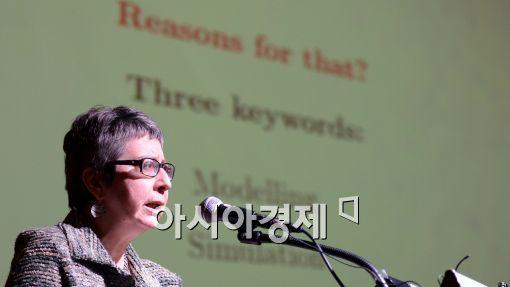 [포토]엠 제이 에스테반, '수학이 세상을 어떻게 바꾸는가?'