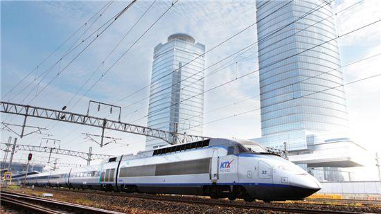 ▲KTX가 이달 말부터 인천공항까지 운행한다.