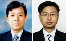 ▲유진희 교수(왼쪽), 최재해 제1사무차장