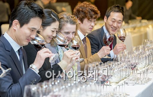 [포토]'마스터 오브 와인'과 함께하는 마스터 클래스