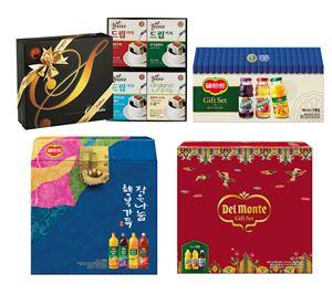 롯데칠성, 음료·원두커피 '설 선물세트' 판매