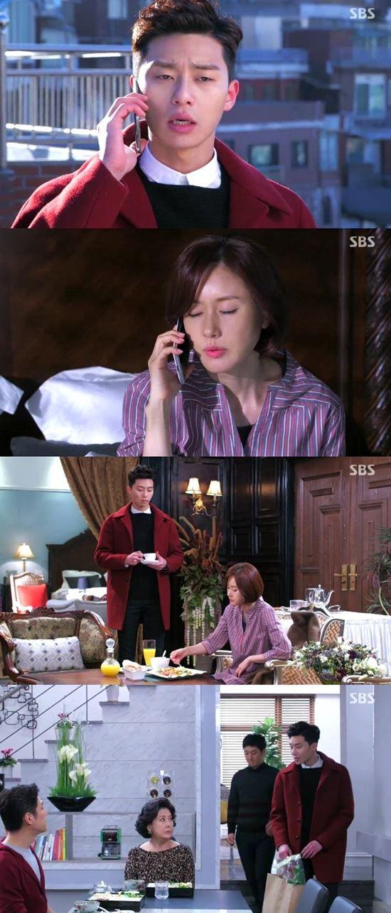 '따말' 박서준, 누나 살뜰히 챙기는 '오빠 같은 동생'