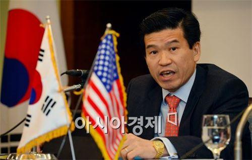 ▲제임스 김 암참 회장 겸 한국GM 대표