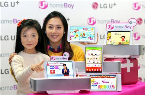 LG유플러스, 프리미엄급 올인원 가전 '홈보이 G패드' 출시