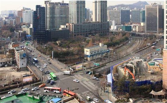 서울 중구 의주로2가 16-4 일대 서소문공원 현황