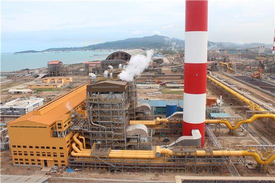 포스코에너지 인도네시아 발전소 모습. (사진제공=포스코에너지)