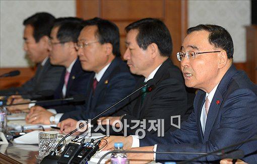 [포토]발언하는 정홍원 총리