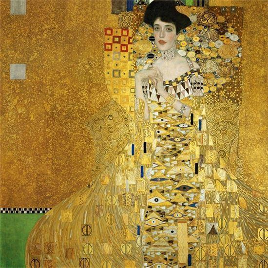 구스타프 클림트, 아델레 블로흐-바우어의 초상.