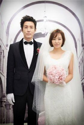 ▲심이영(오른쪽)과 최원영.(출처: MBC)