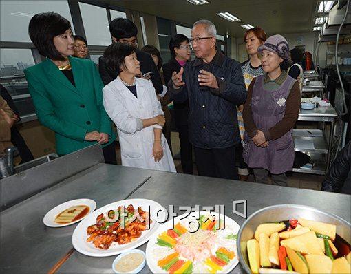 [포토]여성취업.창업 현장방문한 현오석 부총리