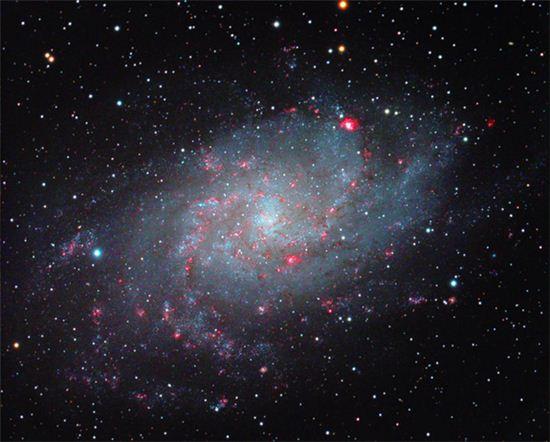 바람개비 은하의 '경이로운' 모습