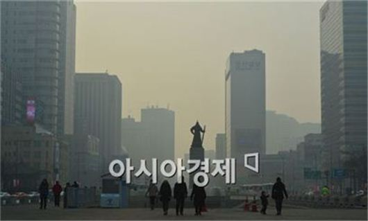 [포토]미세먼지도시