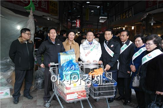 김완주 전북지사·김생기 정읍시장, 설 맞이 민생탐방  실시
