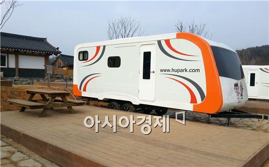 장성군, 홍길동테마파크 오토캠핑장 조성