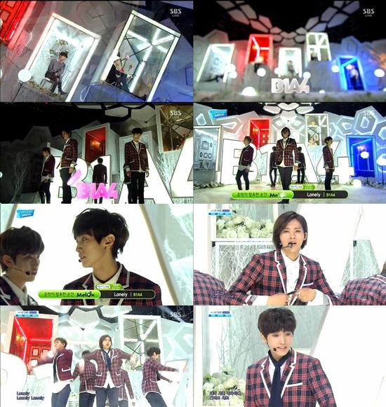 '인기가요' B1A4, 아이돌이 이렇게 감미로워도 돼?
