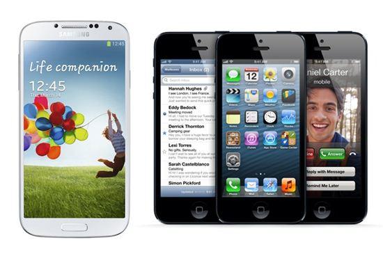 1분기 스마트폰 점유율 '삼성 36.2% vs 애플 17%'