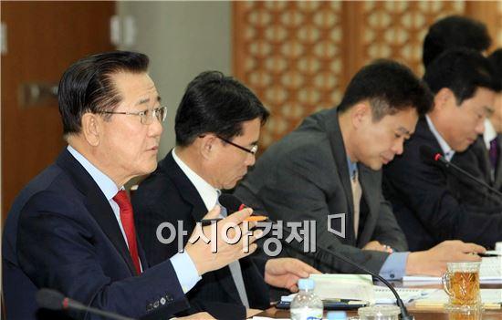[포토]박준영 전남도지사,사업소 및 출연기관 토론회 주재