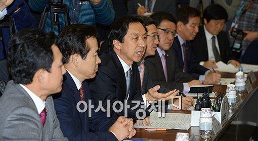 [포토]발언하는 김기현 정책위의장