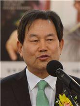 ▲성백진 서울시의회 의장직무대리.
