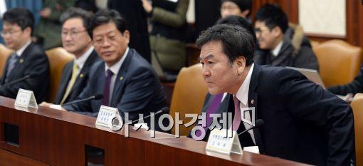 [포토]자리에 앉는 신제윤 금융위원장