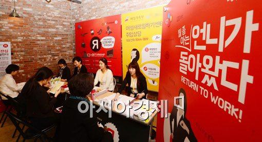 [포토]CJ, 경력단절 여성들을 위한 'CJ리턴십 채용설명회'열어