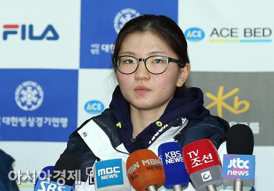 [포토] 심석희 '소녀의 꿈'