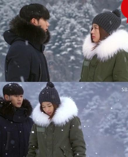 전지현 야상 김수현 야상(출처:SBS)