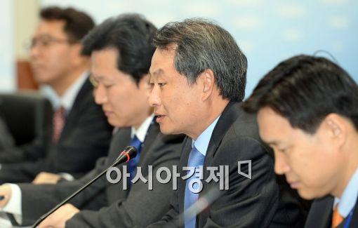 [포토]인사말 전하는 박대근 금융발전심의회 위원장