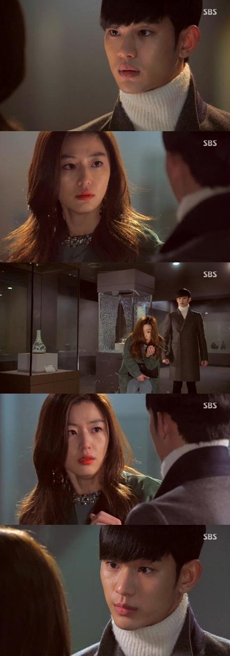 ▲별그대 외계인 정체고백.(출처: SBS '별에서 온 그대' 방송영상 캡처)