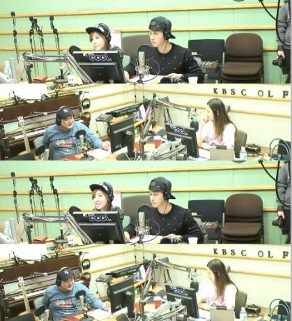 ▲허경환 열애설.(출처: KBS 쿨FM '이소라의 가요광장' 캡처)