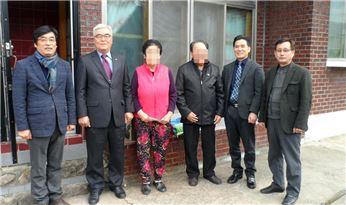 구례경찰, 설 맞이 북한이탈주민 위문
