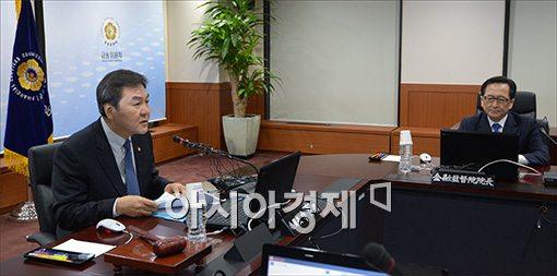 """[포토]신제윤 """"무차별적 대출 권유 재검토"""""""